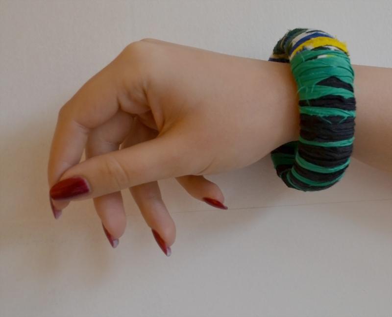 Bracelet-green-black