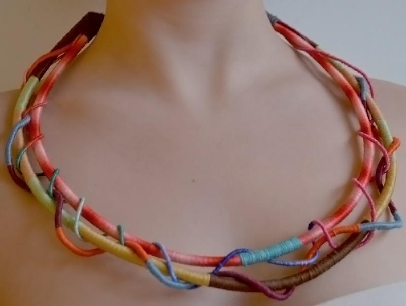 Necklace-multicolor